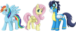 flying ponies by himanuts