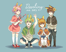 four seasons: deerling by nilampwns