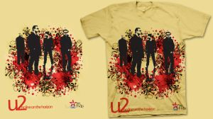 3th T-Shirt for U2 by MDesignN