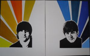 The Beatles - WIP - by Dramatic-Snitch