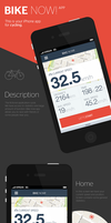 Bike now! app by RadziuPL