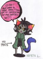Chibi Nepeta by PrussiaHax