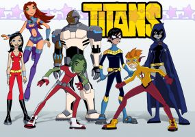 Teen Titans: Season 6 by Glee-chan