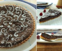 Daring Bakers: Chocolate and Caramel Tart by cakecrumbs