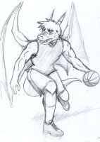 Basketball pose 1 by GingaTokkyu