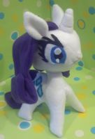 Rarity Plush Commission by SowCrazy