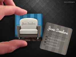 Interior Designer Business Card by axylus