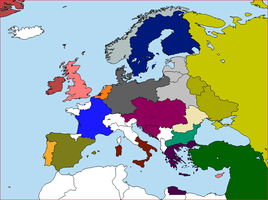 Post-War Europe. by lamnay