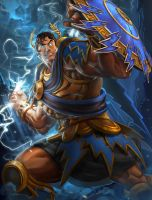 SMITE Young Zeus by Brolo