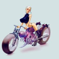 heavy bike by Bielegraphics