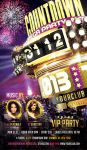 New Year Countdown Party Flyer by cleanstroke