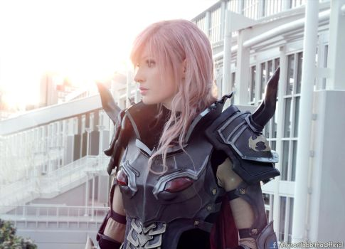 I fight to give people hope. Lightning Cosplay by AlysonTabbitha
