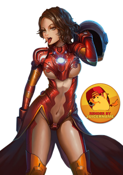 Render - Irongirl by Juicername