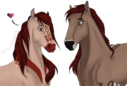 Collodi and Enora Breed Picture by Britneyart08
