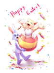 PP and BB - Happy Easter by Tanita-sama