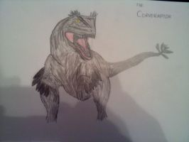 InGen Files: The Corvoraptor by ZombieFighter116