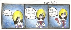 It's nothing special minicomic by TheEmoRagDoll