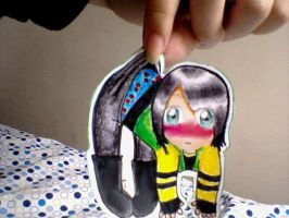 Fun Ghoul Paper Child by frozenfire809