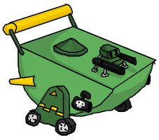 New and improved Toy Tank by Neopolis