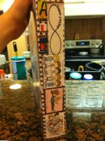 the spine of my 1d binder by alexaride