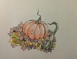 Gourds n Leaves by gyerase