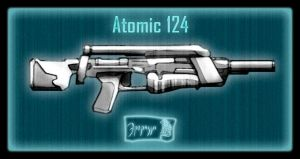 Atomic 124 Assault Rifle by Ergrassa