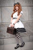 Black and white Sailor I by Zhenya-Chan