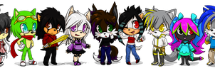 Points chibis group by Nomnomroko