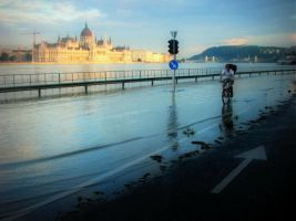 Danube Invasion Of Budapest 6 by stefanpriscu