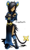 Female Luxray Gijinka by BeautifulEternalSun