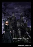 Castle of Horned Queen by skinywitch