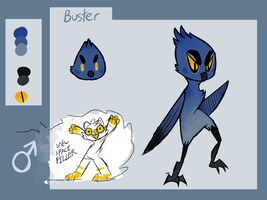 Buster Ref by sneww