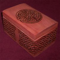 Celtic Box by Thorbjorg