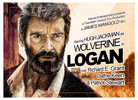Logan (Landscape and Text) by MrPacinoHead