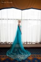 The Queen of Arendelle : Elsa : Frozen by Lossien