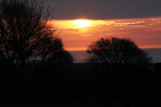Sunrise in St Cyrus by Nigalius
