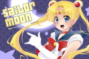 Sailor Mooon by irask