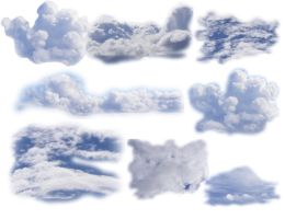 Cloud Brushes by GenuineGenie