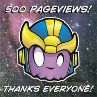 500 Pageviews by HeadsUpStudios