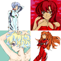 Gainax Girls by Beardorado