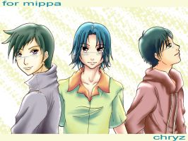 Kido Bros. -for mippa- by chryztal