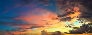 Sunset sky by MotHaiBaPhoto