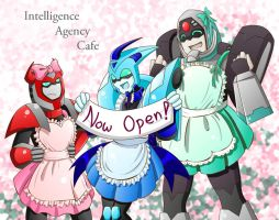 Intelligence Agency Cafe by bbpuyo