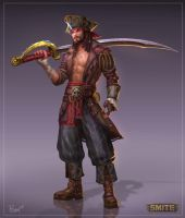 Susano Pirate Concept by PTimm
