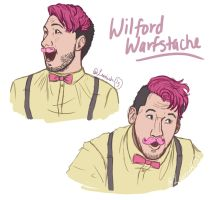 Warfstache by Leenieh