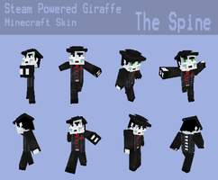SPG the Spine Minecraft Skin by RatherPeculiar