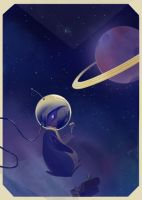 The Futility of Space Cake by Alicique