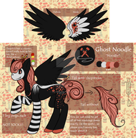 Ghost Noodle Ref by MonsterMeds