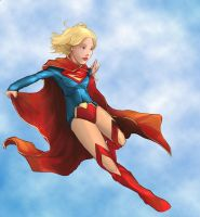 New 52 Supergirl by facelesscow