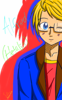 Sketchbook Mobile Express drawing test - Alfred by shasha-san10